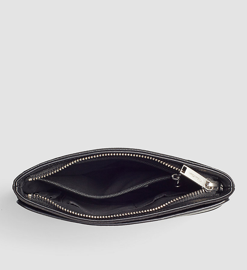 CALVINKLEIN Flat Crossover - BLACK - CALVIN KLEIN SHOES & ACCESSORIES - detail image 2