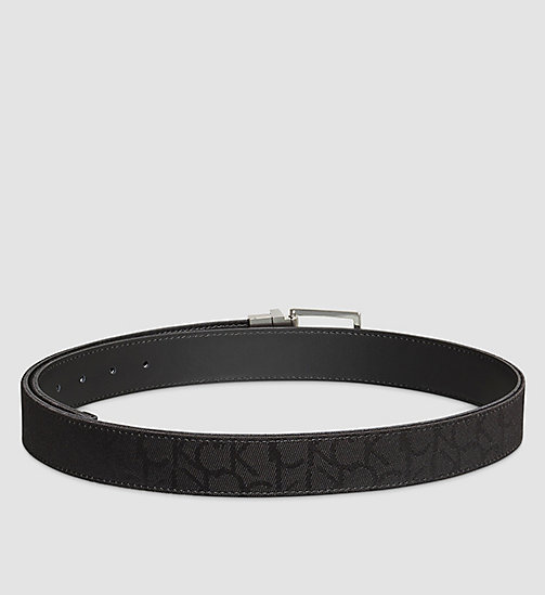 Reversible Belt - BLACK - CALVIN KLEIN  - detail image 1