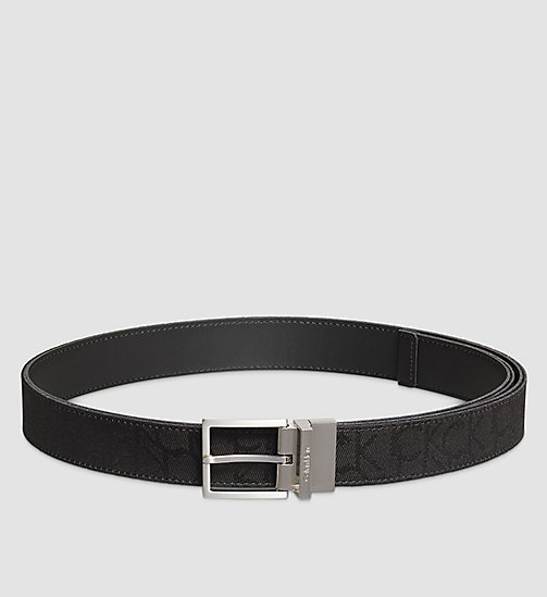 CALVINKLEIN Reversible Belt - BLACK - CALVIN KLEIN BELTS - main image
