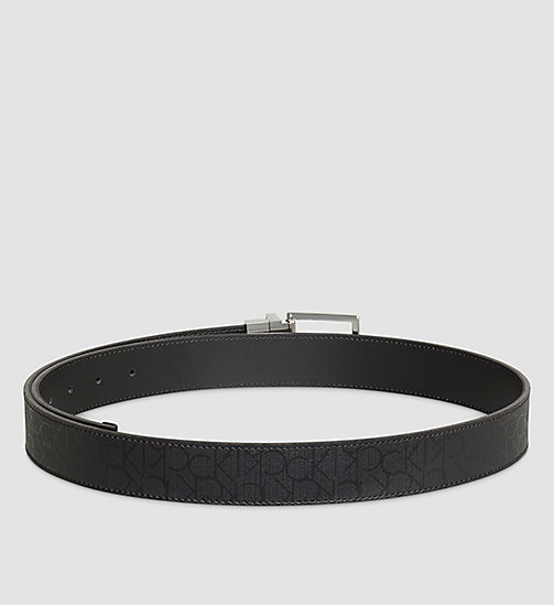 CALVINKLEIN Reversible Belt - BLACK - CALVIN KLEIN BELTS - detail image 1