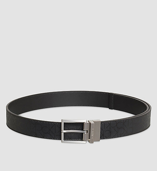 Reversible Belt - BLACK - CALVIN KLEIN  - main image