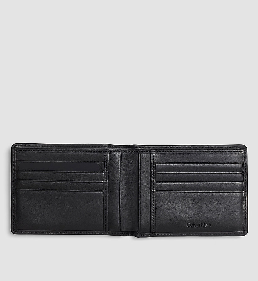 CALVINKLEIN Logo Wallet - BLACK - CALVIN KLEIN SHOES & ACCESSORIES - detail image 1