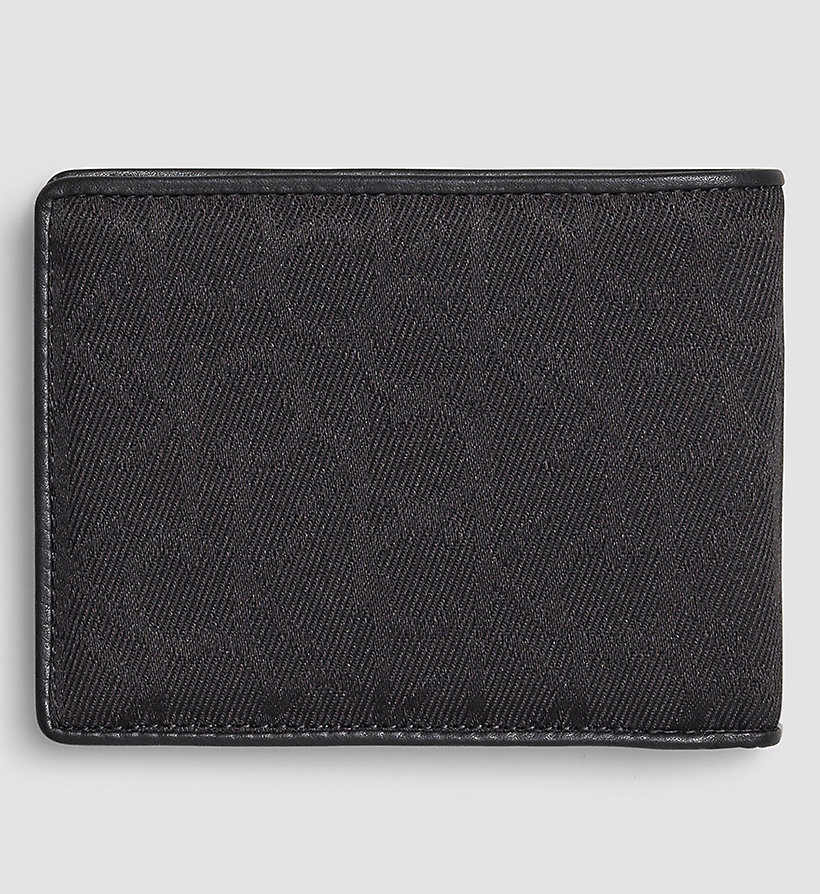 CALVINKLEIN Logo Wallet - BLACK - CALVIN KLEIN SHOES & ACCESSORIES - detail image 2