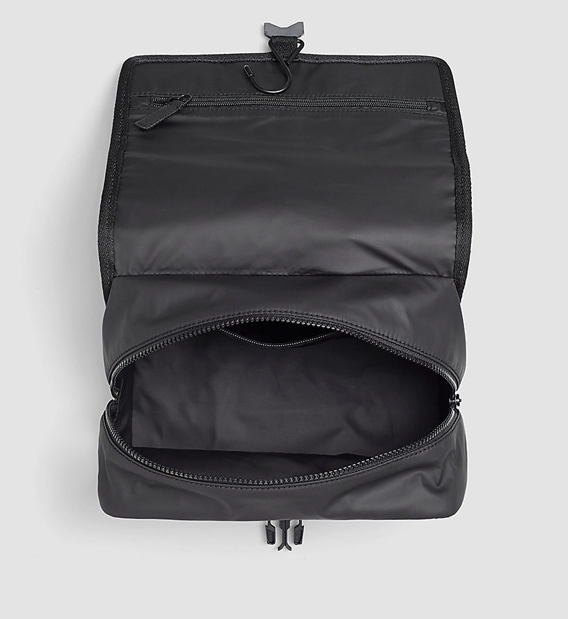 CALVINKLEIN Hanging Washbag - BLACK - CALVIN KLEIN SHOES & ACCESSORIES - detail image 1