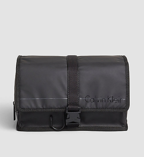 CALVINKLEIN Hanging Washbag - BLACK - CALVIN KLEIN SMALL ACCESSORIES - main image