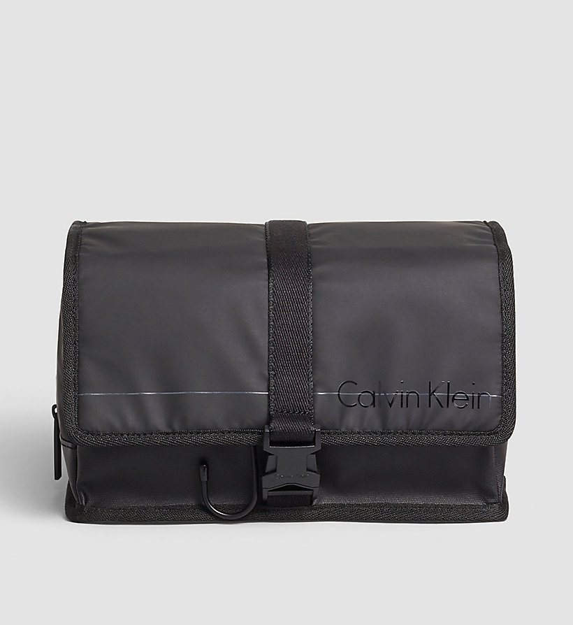 CALVINKLEIN Hanging Washbag - BLACK - CALVIN KLEIN SHOES & ACCESSORIES - main image