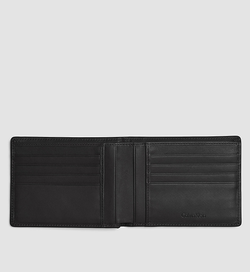 CALVINKLEIN Billfold Wallet - BLACK - CALVIN KLEIN SHOES & ACCESSORIES - detail image 1