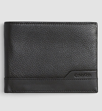 CALVIN KLEIN Leather Billfold Wallet - Norman K50K502231001