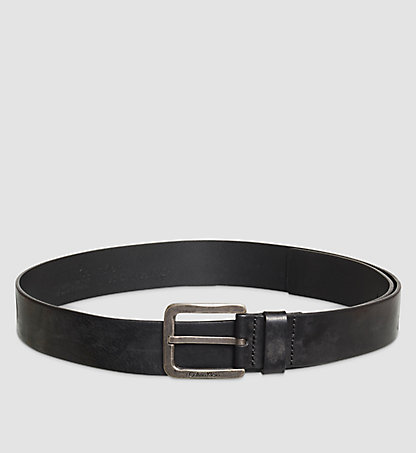 CALVIN KLEIN Leather Belt - Ames K50K502234001