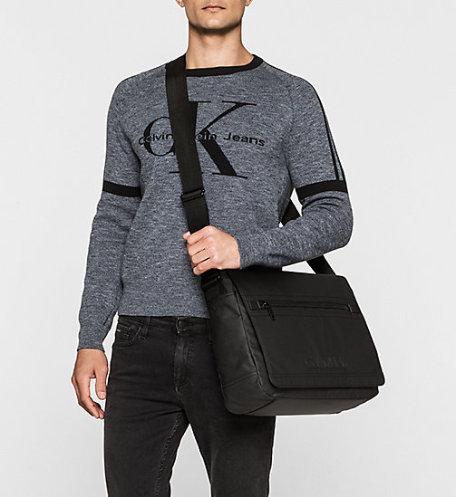 Messenger Bag - BLACK - CALVIN KLEIN SHOES & ACCESSORIES - detail image 1