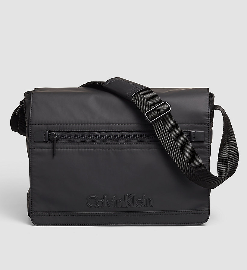 CALVINKLEIN Messenger Bag - BLACK - CALVIN KLEIN SHOES & ACCESSORIES - main image