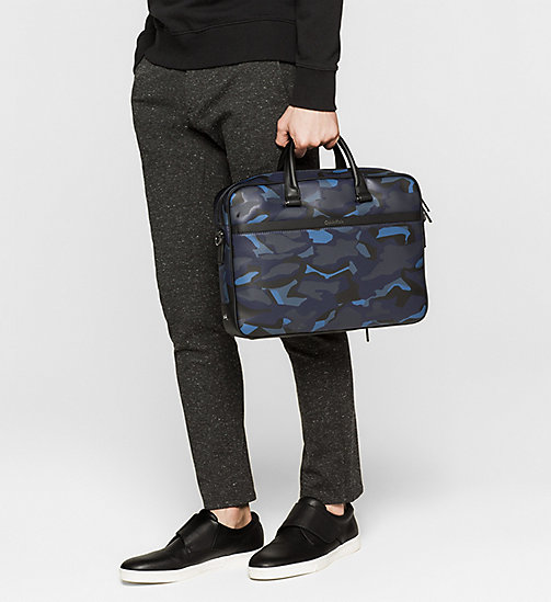 CALVINKLEIN Laptop Bag - ABSTRACT LEAVES PRINT - CALVIN KLEIN BAGS - detail image 1