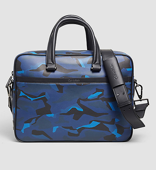 CALVINKLEIN Laptop Bag - ABSTRACT LEAVES PRINT - CALVIN KLEIN BAGS - main image