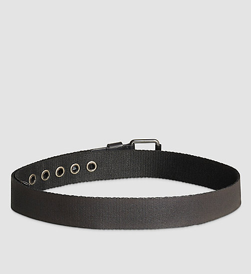 Belt - BLACK - CALVIN KLEIN SHOES & ACCESSORIES - detail image 1