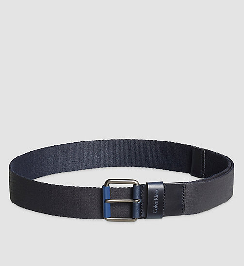 Belt - NAVY - CALVIN KLEIN SHOES & ACCESSORIES - main image