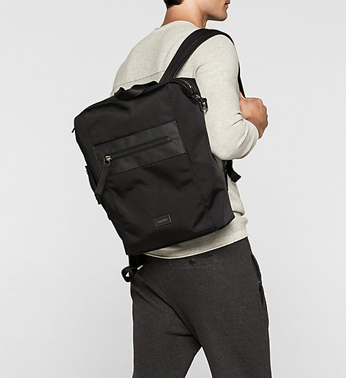CALVINKLEIN Backpack - BLACK - CALVIN KLEIN  - detail image 1