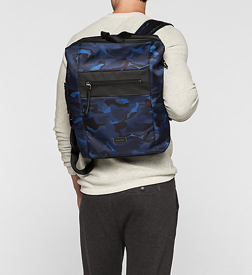 CALVINKLEIN Backpack - ABSTRACT LEAVES PRINT - CALVIN KLEIN BACKPACKS - detail image 1
