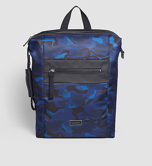 Backpack - ABSTRACT LEAVES PRINT - CALVIN KLEIN  - main image
