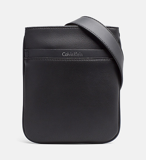 Flacher Mini-Crossover-Bag - BLACK - CALVIN KLEIN  - main image