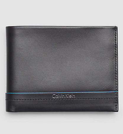 CALVIN KLEIN Leather Billfold Wallet - Elias K50K502290001