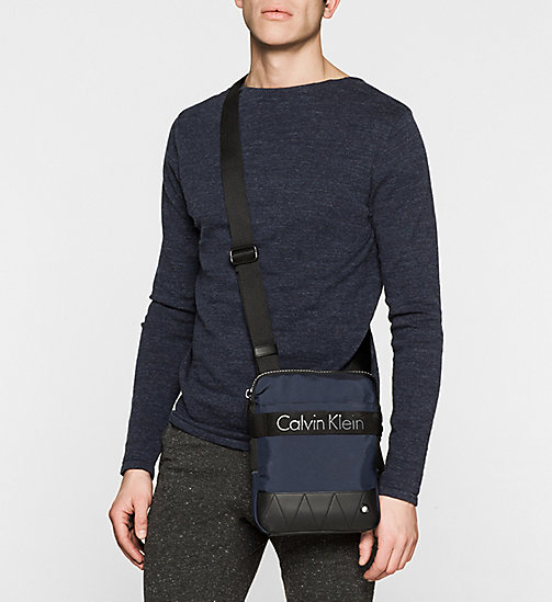 CALVINKLEIN Flat Crossover - NAVY - CALVIN KLEIN CROSSOVER BAGS - detail image 1