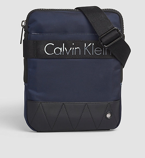 CALVINKLEIN Flat Crossover - NAVY - CALVIN KLEIN CROSSOVER BAGS - main image