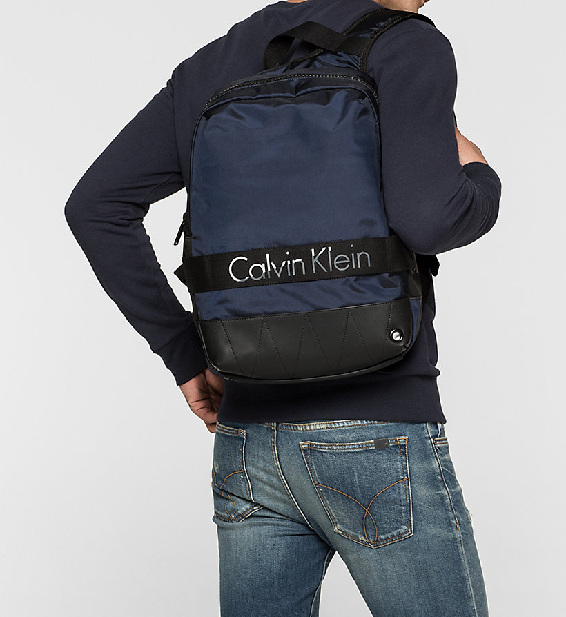 CALVINKLEIN Backpack - NAVY - CALVIN KLEIN SHOES & ACCESSORIES - detail image 1