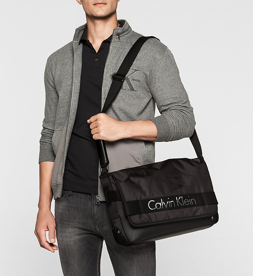 CALVINKLEIN Messenger Bag - BLACK - CALVIN KLEIN SHOES & ACCESSORIES - detail image 1