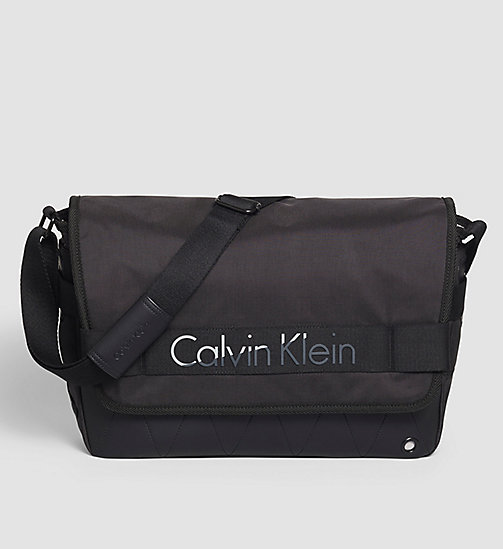 CALVINKLEIN Messenger Bag - BLACK - CALVIN KLEIN GIFTS FOR HIM - main image