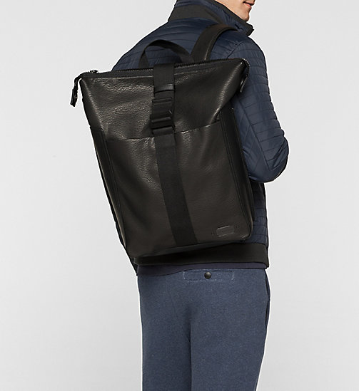 Backpack - BLACK - CALVIN KLEIN SHOES & ACCESSORIES - detail image 1
