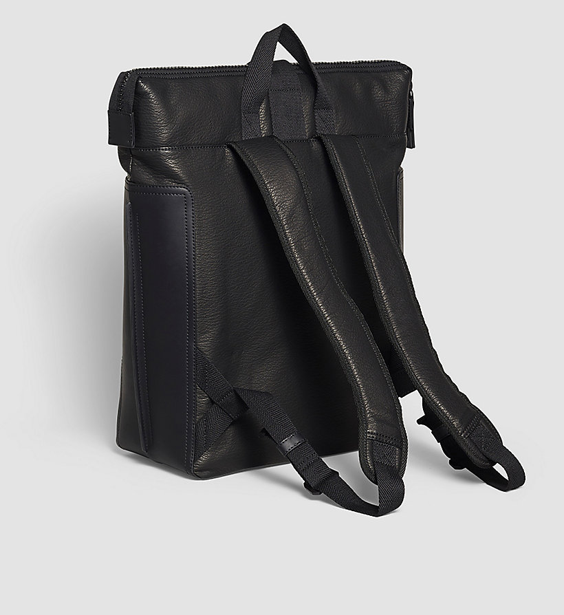CALVINKLEIN Backpack - BLACK - CALVIN KLEIN SHOES & ACCESSORIES - detail image 2