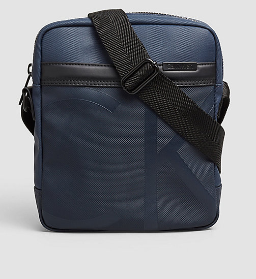 CALVINKLEIN Coated Canvas Reporter Bag - NAVY - CALVIN KLEIN VIP SALE Men DE - main image