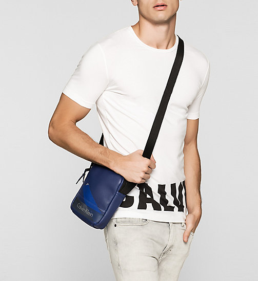 Mini Reporter Bag - BLUE DEPTHS - CALVIN KLEIN  - detail image 1