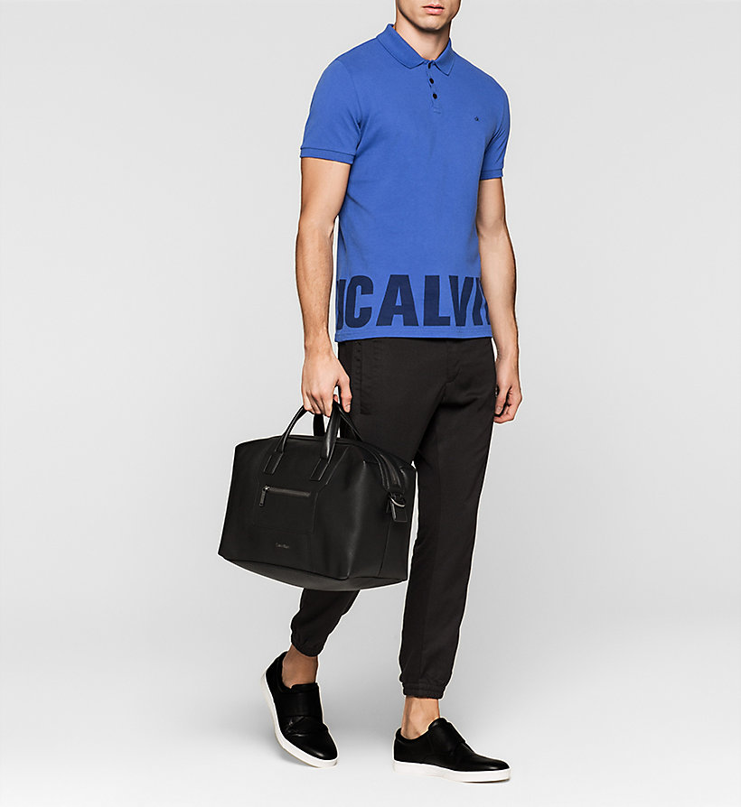 CALVINKLEIN Medium Duffle Bag - BLACK - CALVIN KLEIN SHOES & ACCESSORIES - detail image 1