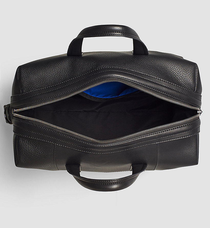 CALVINKLEIN Medium Duffle Bag - BLACK - CALVIN KLEIN SHOES & ACCESSORIES - detail image 2