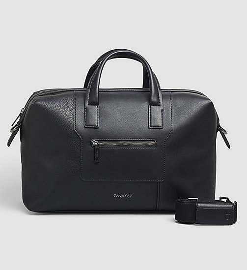 Medium Duffle Bag - BLACK - CALVIN KLEIN SHOES & ACCESSORIES - main image