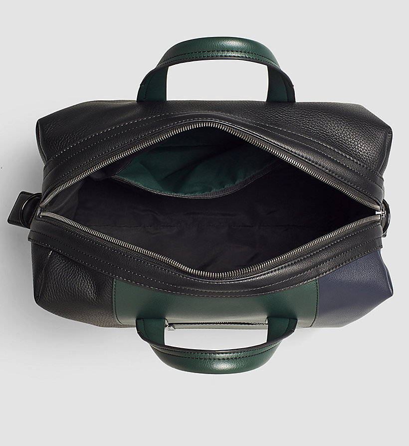 CALVINKLEIN Medium Duffle Bag - BLACK/NAVY/SYCAMORE - CALVIN KLEIN SHOES & ACCESSORIES - detail image 2