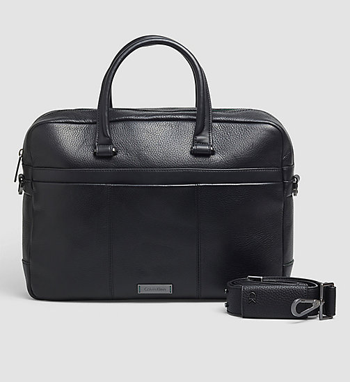 CALVINKLEIN Laptop Bag - BLACK - CALVIN KLEIN LAPTOP BAGS - main image