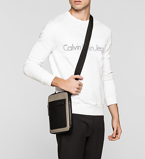 CALVINKLEIN Flat Crossover - DESERT TAUPE - CALVIN KLEIN CROSSOVER BAGS - detail image 1