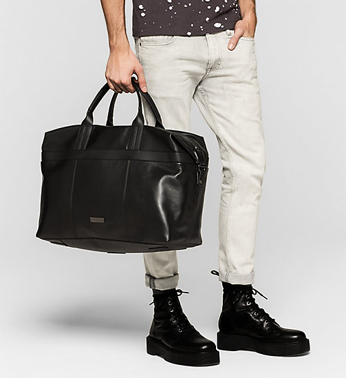 Weekender Bag - BLACK - CALVIN KLEIN  - detail image 1
