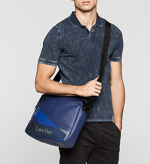 CALVINKLEIN Messenger bag - BLUE DEPTHS - CALVIN KLEIN MESSENGER BAGS - detail image 1