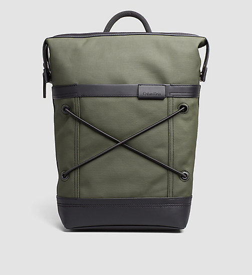 CALVINKLEIN Backpack - MILITARY OLIVE - CALVIN KLEIN BACKPACKS - main image