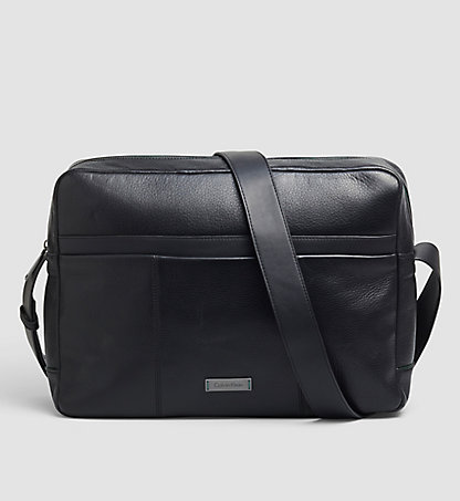 CALVIN KLEIN Leather Messenger Bag K50K502358001