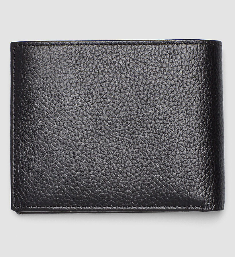 CALVINKLEIN Leather Wallet - BLACK - CALVIN KLEIN SHOES & ACCESSORIES - detail image 2