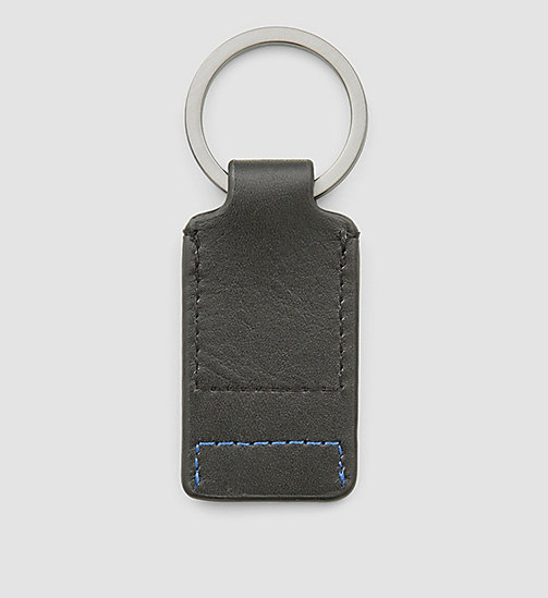 CALVINKLEIN Leather Keyring - BLACK - CALVIN KLEIN SMALL ACCESSORIES - detail image 1
