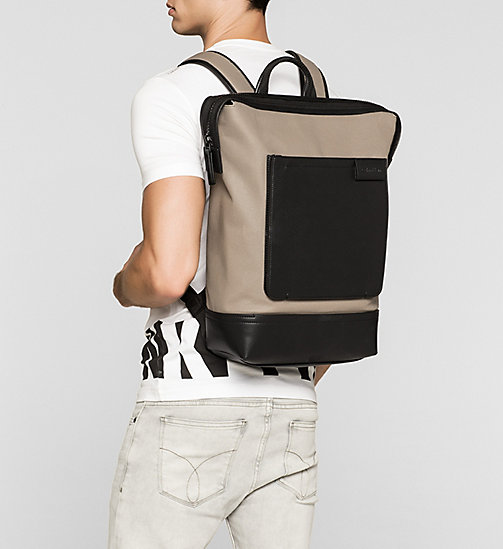 CALVINKLEIN Backpack - DESERT TAUPE - CALVIN KLEIN BACKPACKS - detail image 1