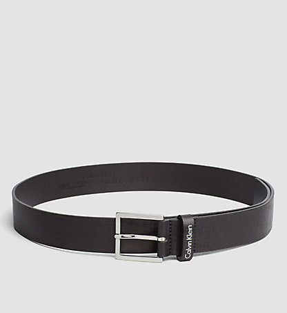 CALVIN KLEIN Textured Leather Belt K50K502401001