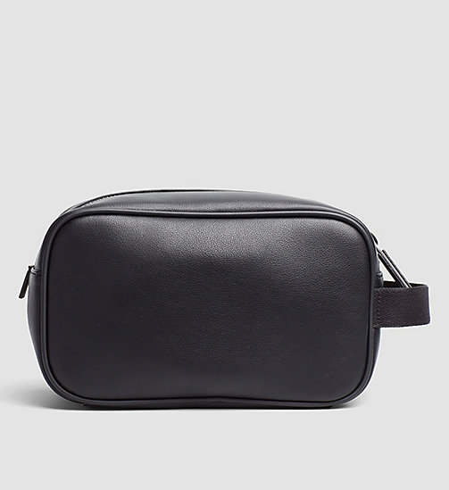 CALVINKLEIN Wash Bag - BLACK - CALVIN KLEIN CARRIED AWAY - detail image 1