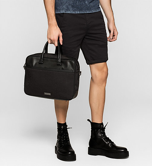 Laptop Bag - BLACK - CALVIN KLEIN SHOES & ACCESSORIES - detail image 1