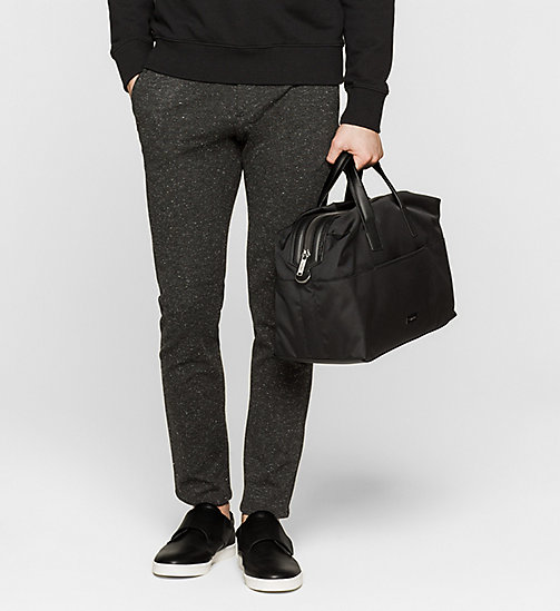 CALVINKLEIN Medium duffle bag - BLACK - CALVIN KLEIN WEEKENDTASSEN - detail image 1